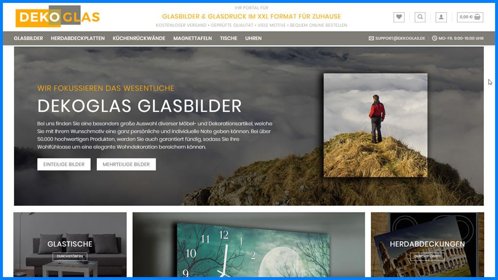 DekoGlas – Glashersteller für Glasprodukte